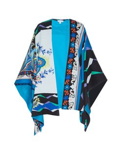 Etro | Floral And Geometric-Print Cotton Poncho