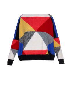 ESK | Colour-Block Cashmere-Knit Sweater