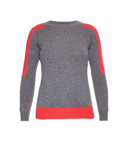ESK | Pip Contrast-Patch Cashmere Sweater