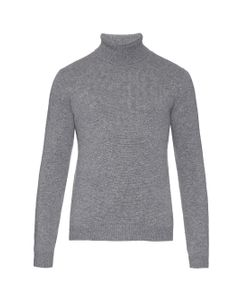 ESK | Sam Roll-Neck Cashmere-Knit Sweater