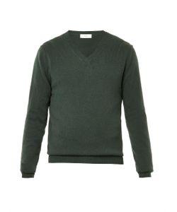 ESK | V-Neck Cashmere Sweater