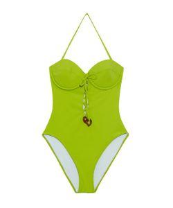 ROXANA SALEHOUN | Balconette Lace-Up Detail Swimsuit