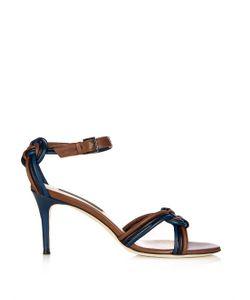 Chrissie Morris   Aziliz Plaited Leather Sandals