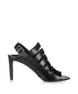 Balenciaga | Spy Multi-Strap Leather Sandals