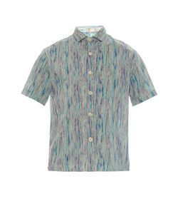 THADDEUS O'NEIL | Ikat-Print Cotton Shirt