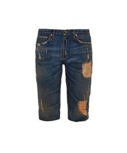 TORTOISE JEANS | Pyxis Distressed Denim Shorts