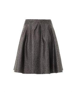 Freda | Mae Leopard-Jacquard Skirt