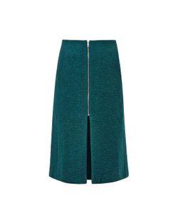 Rika | Lykke Boiled Wool-Blend Pencil Skirt
