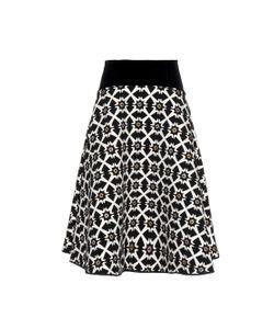 Giles | Jacquard Tile-Print Skirt