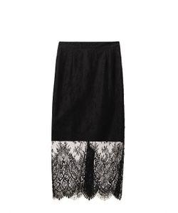 Freda | Lace Pencil Skirt