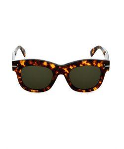 CÉLINE SUNGLASSES | Tortoiseshell Round-Framed Sunglasses