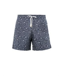 MAKE YOUR ODYSSEY | Eagle Ray Jacquard Swim Shorts