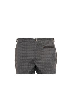 MAKE YOUR ODYSSEY | Dive-1 Shark Tooth Jacquard Swim Shorts