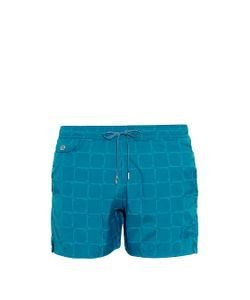 MAKE YOUR ODYSSEY | Lido 1 Harpoon-Jacquard Swim Shorts
