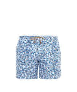 THORSUN | Bird-Print Swim Shorts