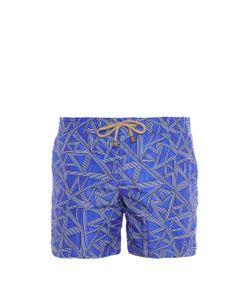 THORSUN | Shatter-Print Swim Shorts