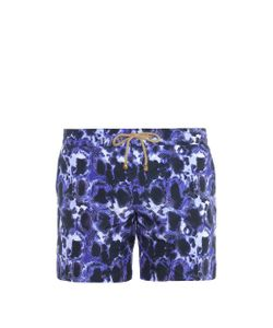 THORSUN | Tortoise-Print Swim Shorts