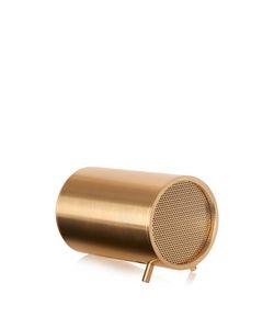 LEFF AMSTERDAM | Tube Brass-Plated Speaker