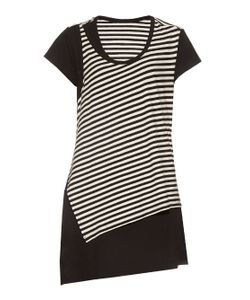 Y'S BY YOHJI YAMAMOTO | Striped Double-Layer Top