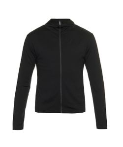MOVER | Long-Sleeved Merino-Wool Jersey Hooded Sweatshirt