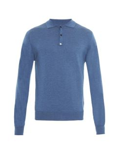 ESK | Cashmere And Cotton-Blend Polo Shirt