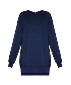 YOHJI YAMAMOTO REGULATION | Contrast-Back Cotton Sweatshirt