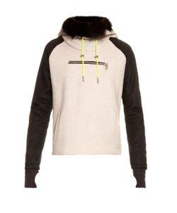 Aurelie Demel   Yegg Fur-Lined Hooded Sweatshirt