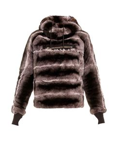 Aurelie Demel   Oto Rex Fur Hooded Sweatshirt