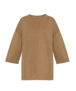 YEEZY SEASON 1   Raw-Edge Cotton Sweatshirt