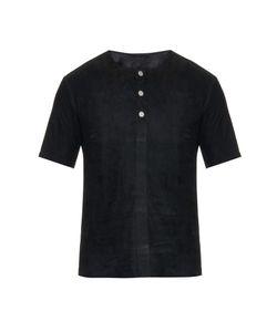 Balenciaga | Suede T-Shirt