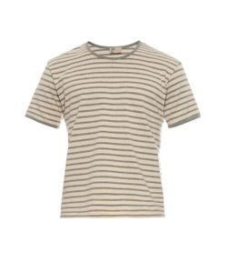 THADDEUS O'NEIL | Striped Cotton T-Shirt