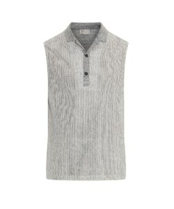THADDEUS O'NEIL | Cotton And Linen-Blend Tank Top
