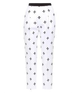 Caterina Gatta | Printed Cotton-Piqué Trousers