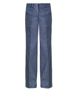 JOE RICHARDS | Marlon Wide-Leg Tweed Trousers