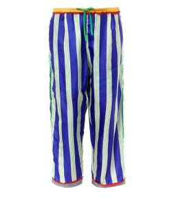 EASTON PEARSON TAKE AWAY | Striped Silk Drawstring Trousers