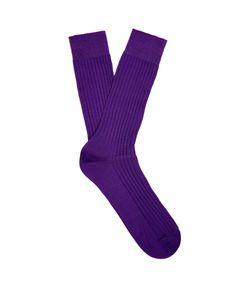 PANTHERELLA | Danvers Ribbed-Knit Socks