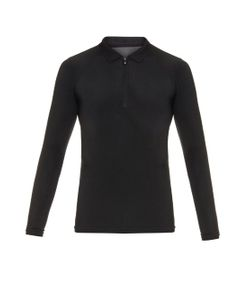 LACROIX | Long-Sleeved Thermal Polo Shirt