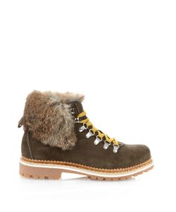 MONTELLIANA | Camelia Fur-Trim Après-Ski Boots
