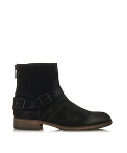 Belstaff   Trialmaster Brushed-Suede Boots
