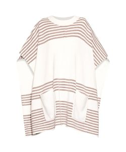 Banjo & Matilda | Striped Wool And Cashmere-Blend Poncho