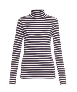 TRADEMARK | Striped Roll-Neck Long-Sleeved Sweater