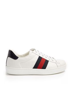 Gucci | New Ace Leather Trainers