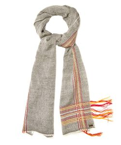 MELT | Samra S Herringbone Wool And Cotton-Blend Scarf