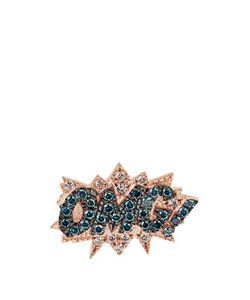 Diane Kordas | Diamond Rose-Gold Omg Earring