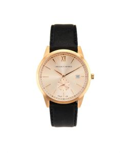 LARSSON & JENNINGS | Saxon Gold-Plated And Leather Watch