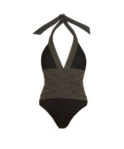 BIONDI | Jet Cristales Halterneck Swimsuit