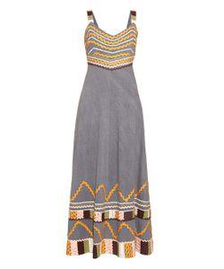 EASTON PEARSON TAKE AWAY | Summer Girl Ribbon-Trim Cotton Dress