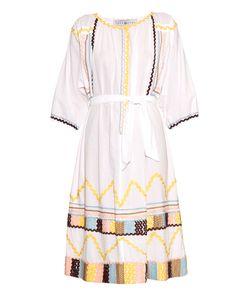 EASTON PEARSON TAKE AWAY | Pasouale Ribbon-Trim Cotton Dress