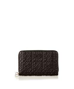 Loewe | Logo-Debossed Leather Cardholder