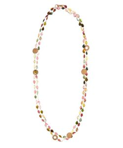 MAURIZIO PINTALDI | Tourmaline Rose-Gold Necklace